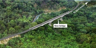 Neue Brücke am Bolivia-Highway